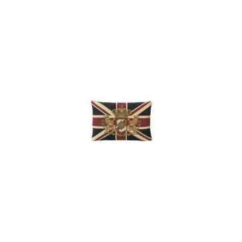 Coussin en tissu avec l\'armoiries du union jack 35x50 Arteinmotion COM-CUS0088