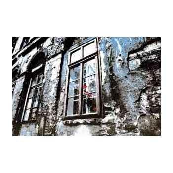 Cadre fenêtre en aluminium effet humide 1500 x 1000 Arteinmotion QUA-ALL0064