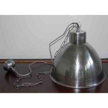 Lustre suspendue en laiton plaqué d'argent 410 h 340 Arteinmotion LAM-PRO0018