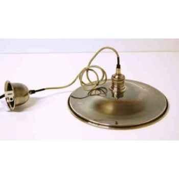 Lustre suspendue en laiton plaqué d\'argent d 360 Arteinmotion LAM-PRO0037