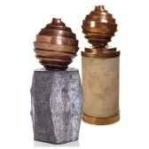 fontaine kyoto fountain aluminium et albatre noir bs3125alu alab