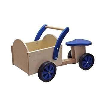 Triporteur naturel en bois New classic toys 1403