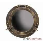 miroir hublot laiton decoration marine amf ac187