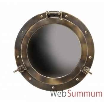 Miroir hublot laiton décoration marine amf ac187