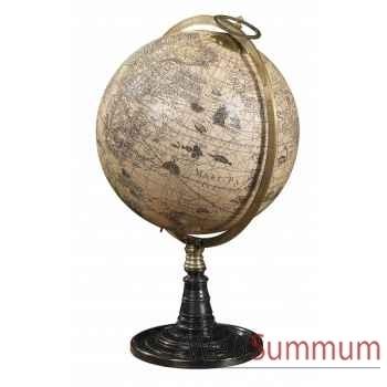 Globe vieux monde décoration marine amf gl046