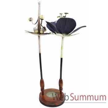 Fleur geranium décoration marine amf mc279