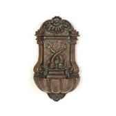 fontaine bretagne walfountain bronze et vert de gris bs3371vb