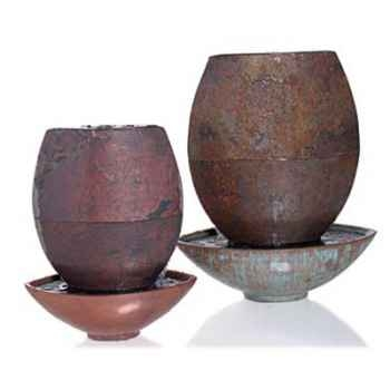 Fontaine Epi Founain, ardoise combinés au bronze -sl5516sl -vb