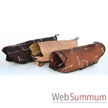 Manteau doudoune avec boutons l. 28cm Sellerie Canine Vendéenne 11828