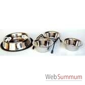 gamelle inox 800msellerie canine vendeenne 16101
