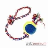corde poignee avec balle tennis sellerie canine vendeenne 17721