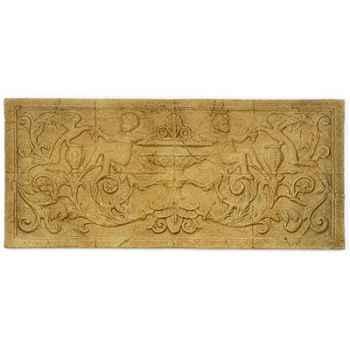 Décoration murale-Modèle Cherub Wall Decor, surface granite-bs3086gry