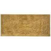 decoration murale modele cherub waldecor surface fer bs3086iro