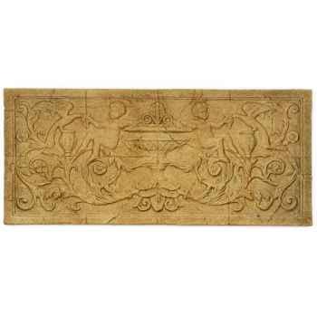 Décoration murale-Modèle Cherub Wall Decor, surface marbre vieilli-bs3086ww