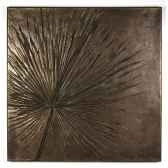 decoration murale modele anahaw walplaque surface bronze nouveau bs3235nb