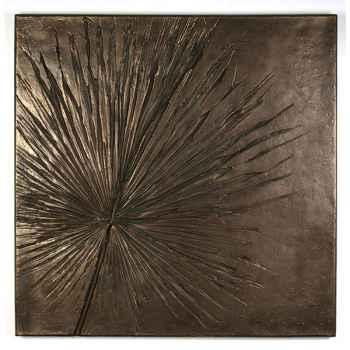 Décoration murale-Modèle Anahaw Wall Plaque, surface bronze nouveau-bs3235nb