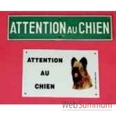 plaqueattention au chien pm sellerie canine vendeenne 27102