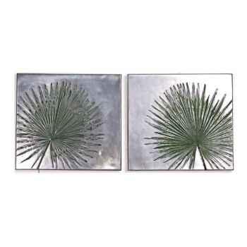 Décoration murale-Modèle Anahaw Junior Wall Plaque Negative Set, surface aluminium-bs4095alu