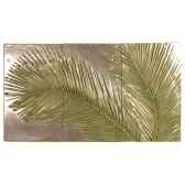 decoration murale modele palm triptych surface bronze nouveau bs4128nb