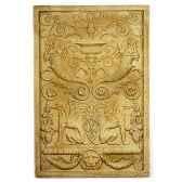 decoration murale modele waldecor griffin motif surface granite bs2602gry