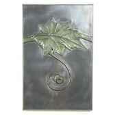 decoration murale modele grape vine walplaque surface aluminium bs2314alu