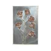decoration murale modele poppy walplaque surface aluminium bs2313alu