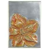 decoration murale modele cobaea walplaque surface aluminium bs2392alu