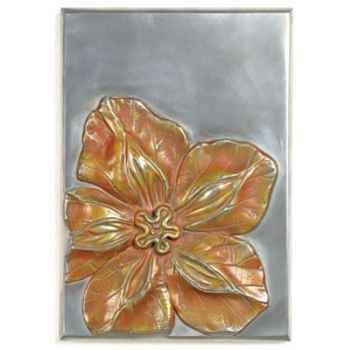 Décoration murale-Modèle Cobaea Wall Plaque, surface aluminium-bs2392alu