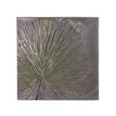 decoration murale modele anahaw walplaque medium negative surface aluminium bs2324alu