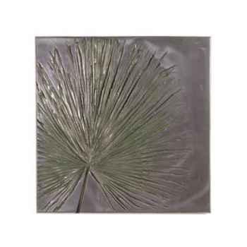 Décoration murale-Modèle  Anahaw Wall Plaque Medium Negative, surface aluminium-bs2324alu
