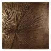 decoration murale modele anahaw walplaque medium negative surface bronze nouveau bs2324nb