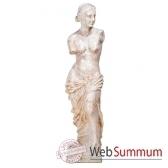 sculpture modele venus de milo surface pierre albatre blanc bs3135alaw