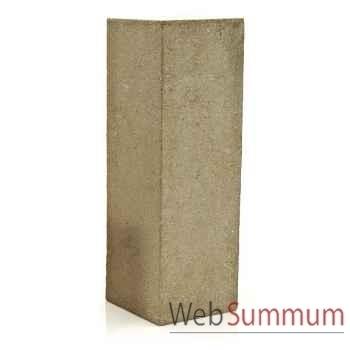 Piedestal et Colonne-Modèle Display Pedestal Large, surface pierre romaine-bs1016ros