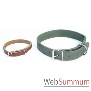 Collier cuir en huile 31mm l. 70cm Sellerie Canine Vendéenne 83132