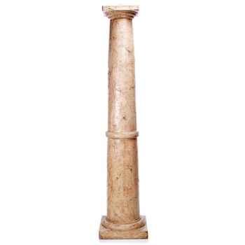 Piedestal et Colonne-Modèle Classic Column, surface marbre vieilli-bs1010ww