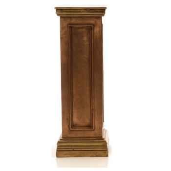 Piedestal et Colonne-Modèle Bristol Podest, surface marbre vieilli combinés avec or-bs1003wwg