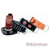 collier cuir pfleur dble nubuck 60mm l65 a 75cm tete clous ogi sellerie canine vendeenne 83879