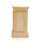 piedestaet colonne modele york podest surface marbre vieilli combines avec or bs1001wwg