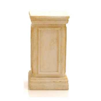 Piedestal et Colonne-Modèle York Podest, surface marbre vieilli combinés avec or-bs1001wwg