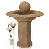 fontaine carva balfountain on octagonapedestagranite bs4066gry