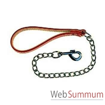 Chaine forte courte mousqueton pompe Sellerie Canine Vendéenne 92702