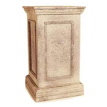 Piedestal et Colonne-Modèle Thames Pedestal, surface granite-bs1031gry