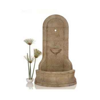 Fontaine-Modèle Cordova Wall Fountain, surface granite-bs3185gry