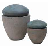 fontaine modele thimble fountain smalsurface granite avec bronze bs3504gry vb