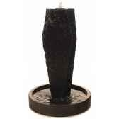 fontaine modele ayers fountainhead 130 surface pierre albatre noir bs3506alab