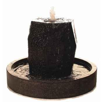 Fontaine-Modèle Ayers Fountainhead 65, surface pierre albâtre noir-bs3507alab