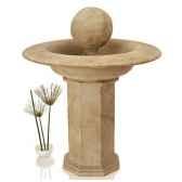 fontaine modele carva balfountain on octagonapedestasurface marbre vieilli bs4066ww