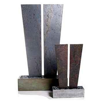 Fontaine-Modèle V Fountain XL, surface ardoise combinés au bronze-sl5514sl/vb