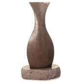 fontaine modele champagne fountain surface ardoise et pierres noire sl5540lava sl