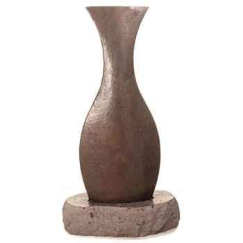 Fontaine-Modèle Champagne Fountain, surface ardoise et pierres noire-sl5540lava/sl